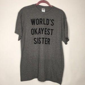 Worlds okayed sister.  Size large